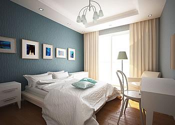 モンゴル特選物件・Mandala Town ベッドルーム