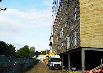 イギリス特選物件・「Kingfisher Court」建設状況01
