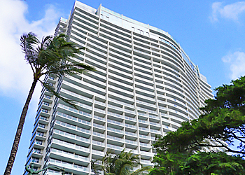 ハワイ不動産 Ritz-Carlton Residences外観