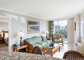 ハワイ不動産 Luana Waikiki室内