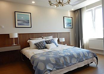 モンゴル特選物件・「Mandala Town」第1フェーズ・ベッドルーム