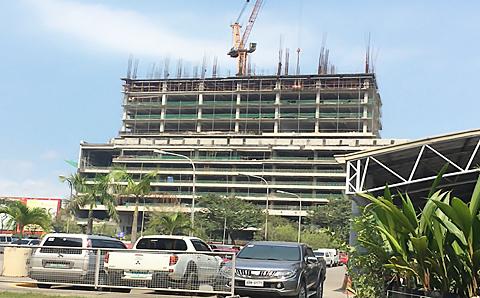 グランドタワーセブ建設状況